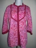 Jual Blus Batik Katun Muslim 3/8 Warna Merah, SOLD OUT