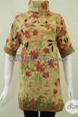 Model BAtik Dress Wanita Modern Dan Trendy,Batik Fashionable Batik Bledak Genes [DR081KT-M]