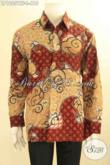 Kemeja Batik Premium Buatan Solo Asli, Baju Batik Mewah Lengan Panjang Di Lengkapi Furing Motif Baru Pas Untuk Kerja Dan Acara Resmi [LP12051TF-L]