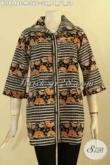 Blouse Batik Wanita Muda Motif Bagus Proses Cap, Baju Batik Atasan Nan Berkelas Kwalitas Istimewa Dengan Harga Terjangkau [BLS9148C-M]