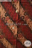 Kain Batik Solo Motif Parang Klasik, Batik Kain Bahan Dolby Jenis Printing Kwalitas Bagus Dan Istimewa, Pas Banget Untuk Busana Formal Nan Berkelas Hanya 100 Ribuan [K3533PDB-240x110cm]