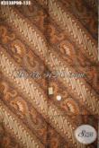 Kain Batik Klasik Bahan Busana Pria Baik Lengan Panjang Maupun Pendek, Batik Halus Print Dolby Khas Jawa Tengah Mewah Harga Murah [K3538PDB-240x110cm]
