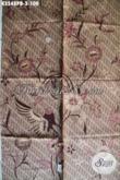 Motif Kain Batik Solo Terkini, Kain Batik Halus Jenis Printing Solo Warna Elegan Berkelas, Pas Banget Untuk Busana Resmi Nan Istimewa Hanya 100K [K3548PB-240x110cm]