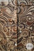 Koleksi Terbaru Kain Batik Solo Kwalitas Bagus Harga Terjangkau, Batik Motif Unik Tren Masa Kini Proses Printing Cabut, Cocok Untuk Baju Santai Maupun Resmi [K3552PB-240x110cm]