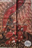Kain Batik Halus Motif Elegan Klasik Kekinian, Batik Solo Asli Bahan Busana Pria Maupun Wanita Untuk Penampilan Lebih Berkelas [K3557PB-240x110cm]