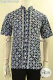 Jual Kemeja Batik Koko Kerah Shanghai Modis, Pakaian Batik Istimewa Yang Menunjang Penampilan Pria Lebih Gagah Dan Tampan [LD12257CK-S]