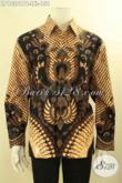 Jual Kemeja Batik Pria Lengan Panjang Untuk Acara Resmi Kwalitas Bagus Harga Terjangkau, Baju Batik Solo Yang Bikin Penampilan Gagah Menawan [LP12361PB-L]