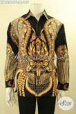 Koleksi Terkini Baju Batik Pria Lengan Panjang Untuk Yang Kerja Kantoran, Busana Batik Istimewa Menunjang Penampilan Lebih Sempurna Hanya 158K [LP12366PB-M]