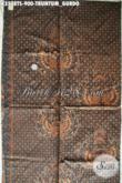 Bahan Kain Batik Solo Motif Klasik Truntum Gurdo Jenis Tulis Soga Kwalitas Premium, Bisa Untuk Jarik Maupun Busana Resmi Nan Berkelas [K3578TS-240x105cm]