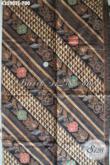 Batik Kain Istimewa Motif Elegan Jenis Tulis Soga, Batik Mewah Khas Jawa Tengah Bahan Aneka Busana Kekinian Untuk Acara Resmi Ataupun Kondangan [K3590TS-240x105cm]