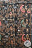 Jual Kain Batik Kemeja Pria Mewah, Batik Tulis Soga Motif Elegan Khas Jawa Tengah, Cocok Juga Untuk Busana Resmi Wanita [K3594TS-240x105cm]