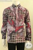 Produk Kemeja Batik Istimewa Untuk Kondangan Dan Acara Formal, Baju Batik Solo Lengan Panjang Tulis Motif Tren Masa Kini Daleman Pakai Furing Hanya 600 Ribuan Saja [LP12475TF-M]