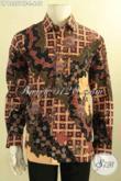 Koleksi Terbaru Kemeja Batik Tulis Premium Motif Elegan Desain Terbaru, Baju Batik Istimewa Khas Jawa Tengah Untuk Pria Muda Maupun Dewasa [LP12557TF-L]