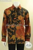 Kemeja Batik Kondangan Pria Lengan Panjang Mewah Motif Bagus Proses Tulis Daleman Full Furing, Penampilan Gagah Berwibawa [LP12690TF-L]