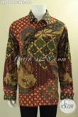 Pusat Baju Batik Premium Khas Solo Online, Jual Kemeja Lengan Panjang Jumbo Untuk Pria Gemuk Jenis Tulis Motif Bagus Daleman Full Furing Hanya 600 Ribuan [LP12709TF-XXL]