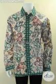 Kemeja Batik Pria Big Size Lengan Panjang Full Furing Murah, Baju Batik Cocok Gemuk Jenis Print Malam Motif Bagus Hanya 335K [LP12728PM-XXL]