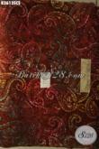 Kain Batik Santung Halus Jenis Cap Smok Dengan Warna Gradasi Kwalitas Bagus, Bahan Busana Atasan Maupun Bawahan [K3613SCS-200x105cm]