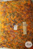Kain Batik Bahan Santung Motif Modern Proses Cap Smok Kwalitas Istimewa Dengan Harga Terjangkau, Cocok Untuk Bawahan [K3618SCS-200x105cm]