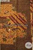 Produk Terkini Kain Batik Tulis Khas Solo Dengan Pola Kemeja Lengan Panjang Motif Elegan Dan Berkelas, Cocok Untuk Busana Kerja Maupun Acara Resmi [K3629LPT-240x110cm]