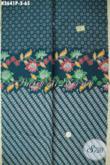 Jual Kain Batik Bagus Harga Murah Meriah, Batik Solo Jenis Printing Motif Trendy Cocok Untuk Blus Maupun Dress Wanita Kerja Kantoran, Tampil Lebih Bergaya [K3641P-200x110cm]