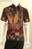 Kemeja Batik Kwalitas Premium, Hem Batik Pria Lengan Pendek Motif Terkini Jenis Tulis, Pilihan Tepat Untuk Penampilan Lebih Berkelas [LD12817TF-M]