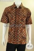 Pusat Baju Batik Pria Online Paling Up To Date, Jual Kemeja Batik Lengan Pendek Halus Motif Terbaru Kwalitas Istimewa, Big Size Spesial Untuk Yang Berbadan Gemuk [LD12838CT-XXL]