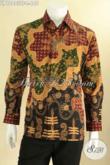 Jual Baju Batik Premium Online, Baju Batik Lengan Panjang Tulis Asli Bahan Halus Mewah Pakai Furing, Pilihan Terbaik Untuk Kerja Dan Rapat [LP12803TF-L]