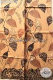Kain Batik Bahan Busana Kerja Kantoran Nan Modis, Batik Halus Asli Buatan Solo Motif Tren Masa Kini, Cocok Untuk Pakaian Wanita Maupun Pria [K3658PB-240x110cm]