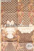 Kain Batik Istimewa Khas Solo Motif Modern Dengan Sentuhan Etnik, Batik Halus Jenis Print Cabut Cocok Untuk Bahan Baju Kerja Dan Busana Kondangan [K3661PB-240x110cm]
