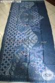 Koleksi Terkini Kain Batik Tulis Sutra Twis Warna Biru Motif Terbaru Khas Solo, Batik Istimewa Bahan Busana Wanita Dan Pria Yang Menunjang Penampilan Makin Sempurna [K3676SUWT-240x105cm]