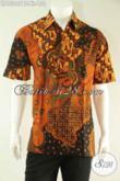 Jual Baju Batik Pria Terkini Motif Terbaru Kombinasi Tulis Nan Elegan Dan Berkelas, Kemeja Batik Cowok Khas Solo Yang Menunjang Penampilan Lebih Mempesona [LD13007BT-XL]