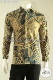 Kemeja Batik Pria Lengan Panjang Desain Formal Kwalitas Bagus Berbahan Halus Nyaman Di Pakai, Cocok Untuk Seragam Kantor Tampil Berwibawa [LP12970PB-S]