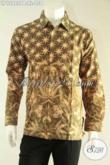 Kemeja Batik Pria Terbaru Lengan Panjang Pas Banget Untuk Acara Resmi, Busana Batik Solo Asli Motif Bagus Hanya 100 Ribuan Saja [LP12980PB-XL]