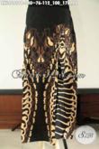 Rok Batik Wanita Terbaru Model Klok Motif Elegan Di Lengkapi Karet Dibagian Belakang, Bawahan Batik Modis Cocok Di Padukan Dengan Atasan Casual [RKL9689PB-All Size]