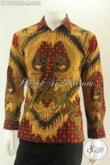 Kemeja Batik Pria Lengan Panjang Istimewa Tulis Asli, Baju Batik Premium Full Furing Desain Formal Pas Banget Untu Kerja Dan Kondangan [LP13186TF-M]