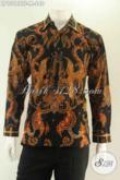 Produk Pakaian Batik Pria Tren Terkini, Baju Batik Premium Lengan Panjang Full Furing Motif Bagus Jenis Tulis, Bisa Untuk Acara Santai Maupun Resmi [LP13188TF-M]