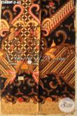 Kain Batik Murah Meriah Kwalitas Mewah Asli Buatan Solo, Batik Print Nan Istimewa Cocok Untuk Busana Kerja Wanita Pria Karir [K3680P-200x110cm]