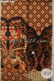 Jual Kain Batik Motif Terbaru Nan Elegan Dan Mewah, Batik Printing Solo Asli Yang Cocok Untuk Busana Kerja Pria Lengan Pendek [K3689P-200x110cm]