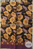 Jual Kain Batik Solo Jenis Printing Motif Mawar Ungu Kwalitas Bagus, Pas Banget Untuk Blouse Wanita [K3693P-200x110cm]