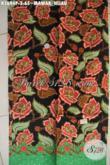 Kain Batik Bagus Khas Jawa Tengah Motif Mawar Hijau Kwalitas Halus Yang Modis Untuk Pakai Santai Maupun Resmi Wanita Masa Kini [K3694P-200x110cm]