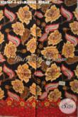 Kain Batik Motif Mawar Merah Bahan Baju Kerja Dan Acara Resmi Wanita Tren Masa Kini, Batik Print Khas Jawa Tengah Kwalitas Istimewa Harga Biasa [K3696P-200x110cm]