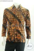 Jual Kemeja Batik Pria Modern Lengan Panjang Cocok Untuk Seragam Kerja Dan Acara Resmi, Penampilan Lebih Berwibawa [LP13236PB-M]