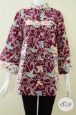 Baju Batik Wanita Terkini,Terbaru,Ukuran Big Size [BLS1016C-XXL]
