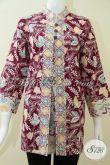 Pakaian Batik Wanita Bahan Berkwalitas Motif Batik Cap [BLS1209C-XL]