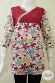 BAju BAtik Untuk Remaja,Blus Kantor Batik Wanita [BLS1323C-M]