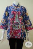Toko Penjual Pakaian Batik Wanita Paling Up To Date, Sedia Blus Batik Dengan Model Dan Motif Terbaru Yang Lebih Modis Serta Fashionable [BLS2183P-M]