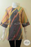 Toko Online Busana Batik Wanita Ukuran Jumbo,Batik Wanita Gemuk Model Modern [BLS2777P-XXL]