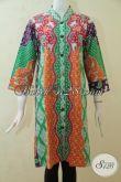 Jual Seragam Kerja Batik Wanita Karir, Blus Batik Jawa Desain Motif Terbaru Yang Lebih Atraktif Dan Feminim, Busana Batik Berkelas Wanita Tampil Modis Dan Mempesona [BLS3220P-XL]