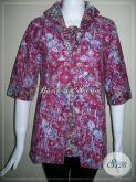 Baju BAtik Bahan Berkwalitas,Baju Batik Wanita Pegawai Bank [BLS431P-M]