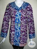 Baju BAtik Wanita Big Size,Blus BAtik Murah Aneka Model [BLS490C-XXL]